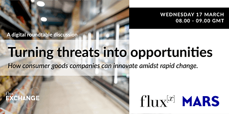 Fluxx Exchange: Turning threats into opportunities tickets