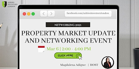 Property Market Update and Networking tickets