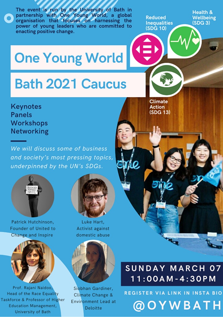 One Young World Bath Conference 2021 image