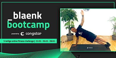 _blaenk Workout |Online Fitness Challenge powered by congstar Tickets