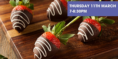 Arts Online Extra! - Chocolate & Soft-Fudge Dipped Strawberries Cook Along! tickets