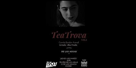 Teatrova Vol.2: Camila Bordón Arenal entradas