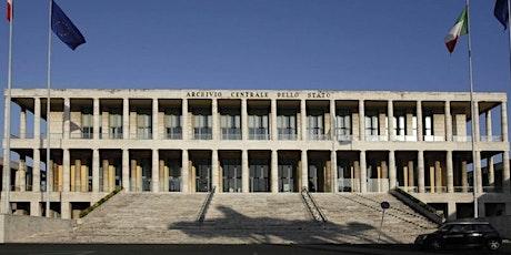 Accesso contingentato alla Sala di studio dell'ACS (1 - 31 marzo) biglietti