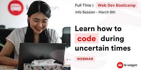 Web Development Bootcamp - Info Session tickets