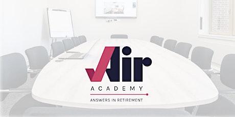 Air Academy - Pensions  Module Live Webinar tickets