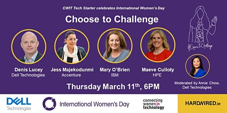 Tech Starter #ChoosetoChallenge Panel Discussion tickets