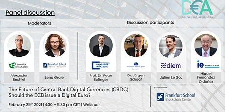 The Future of Central Bank Digital Currencies (CBDC) tickets
