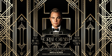 Great Gatsby Boat Party - Sydney tickets