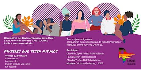 Mujeres que tejen futuros entradas