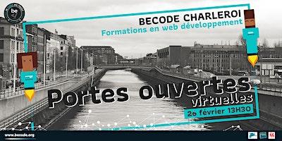 Portes ouvertes virtuelles Charleroi 26 février 2021