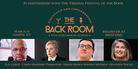 Virginia Festival of the Book Special Presentation tickets