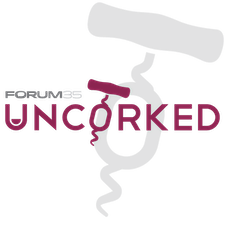 Forum 35's Uncorked logo