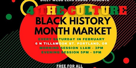 4 The Culture Black History Month Market tickets