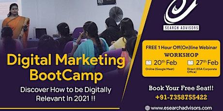 FREE Digital Marketing Workshop tickets