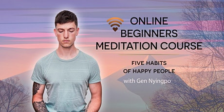5 habits of happy people - booking for individual sessions tickets