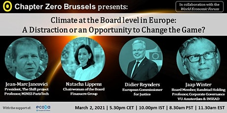 The Board & Climate Change:  Distraction or Opportunity to Change the Game? tickets