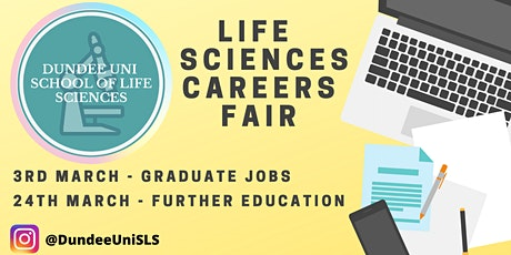 School of Life Sciences: Graduate Jobs Careers Fair tickets