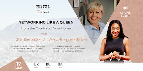 Networking Like A Queen - From the Comfort of Your Home | FF Slovenia tickets