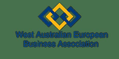 WAEBA  WA European Defence Industry Breakfast & Forum 25th March 2021 tickets