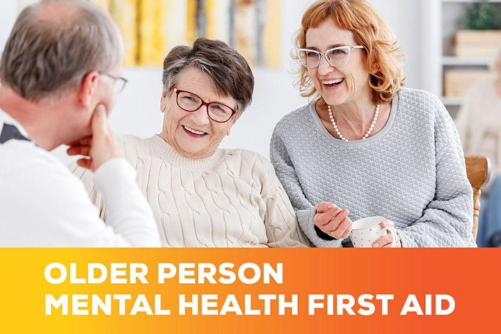 Older Persons Mental Health First Aid 2 day Course image