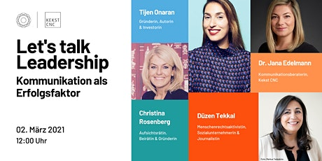 Let's talk Leadership | GDWxKekstCNC Tickets