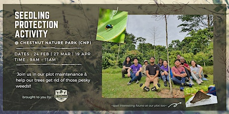 SPA Day! Seedling Protection Activity @ Chestnut Nature Park (CNP) tickets