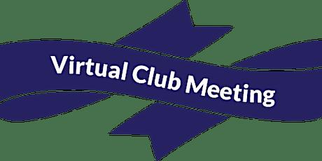 Chester Business Club - Virtual Club Meeting tickets