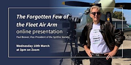 The Forgotten Few of the Fleet Air Arm - Battle of Britain - Paul Beaver tickets