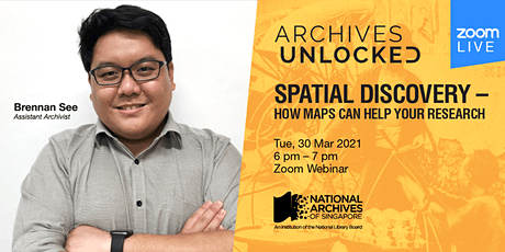 Spatial Discovery –  How Maps Can Help Your Research | Archives Unlocked tickets