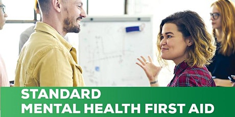 Mental Health First Aid - 2 day workshop - Thursday 20 and 27 May tickets