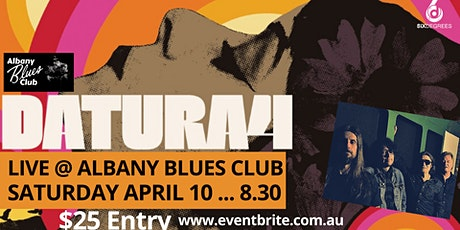 DATURA-4 Live at the Albany Blues Club ...  Six Degrees tickets