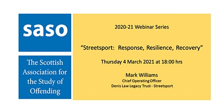 Streetsport:  Response, Resilience, Recovery tickets