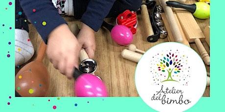 LEZIONE PROVA   Rhythm Kids (Propedeutica Musicale) dai 3 ai 5 anni biglietti