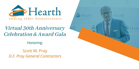 Hearth's Virtual 30th Anniversary Celebration & Award Gala tickets