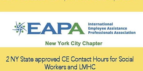EAPA Training: Clinical Overview of Eating Disorders tickets