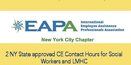 EAPA Training: Complex Trauma & Adolescent Problematic Gaming tickets