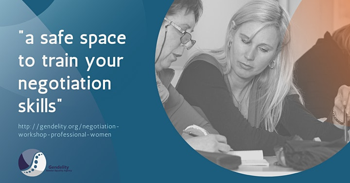 Interactive Negotiation Workshop For Professional Women  - 3 Mondays Online image