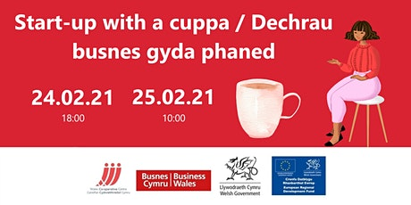 Start-up with a cuppa – February sessions tickets