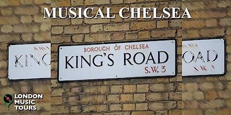 Musical Chelsea – A Virtual Tour tickets