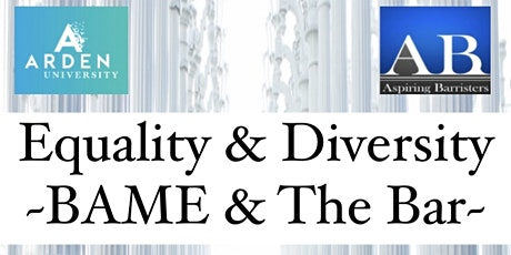 Equality & Diversity - BAME & The Bar tickets