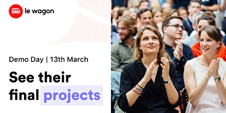 [Demo Day] Le Wagon Berlin - Part Time Batches 470 & 480 tickets