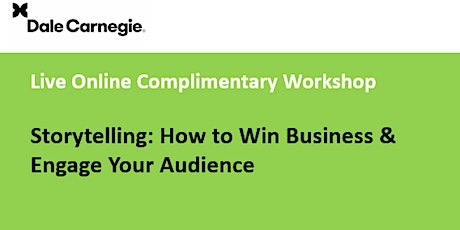 Storytelling How to Win Business & Engage Your Audience Workshop tickets