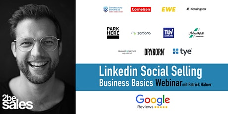 Social Selling Linkedin Basics Webinar / GERMAN tickets