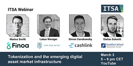 Tokenization and the emerging digital asset market infrastructure tickets