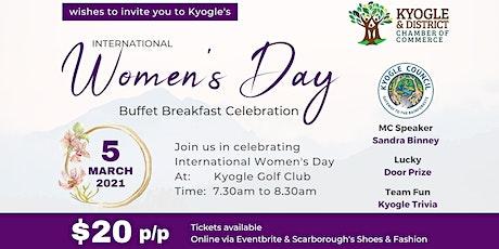 Kyogle's International Women's Day Buffet Breakfast Celebration tickets