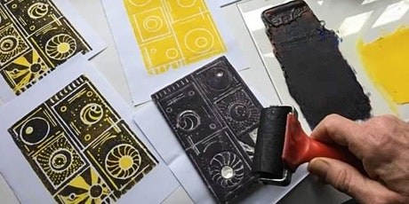 Make it Yours Workshops from Home: Styrene Press Printing with Paul Henegan tickets