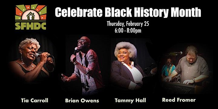 SFHDC Black History Month Celebration image
