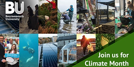 Panel: The climate crisis and action in Bournemouth and universities tickets
