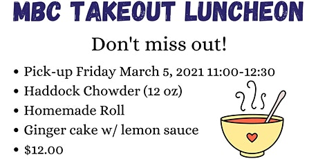 MBC Takeout Luncheon tickets