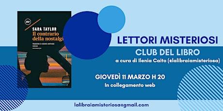 Club del Libro dei Lettori Misteriosi - Marzo 2021 entradas